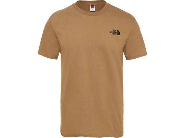online retailer 68235 4133a The North Face Simple Dome Kurzarm T-Shirt Herren british khaki